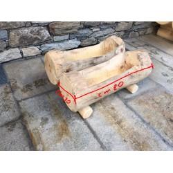 Fioriera in legno cm 80