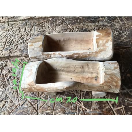 Fioriera in legno